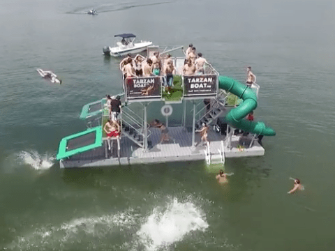 This is a Tarzan Boat and we really want one