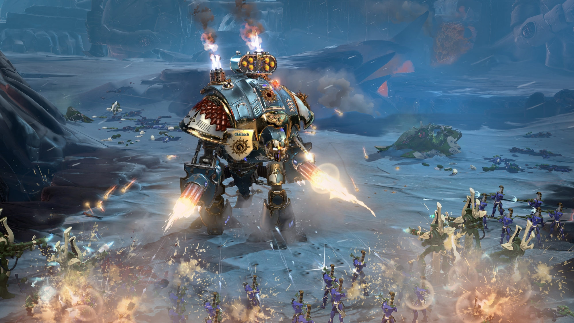 Warhammer 40,000: Dawn Of War III - subtlety is not an option