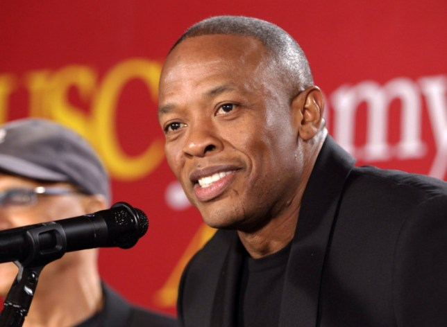 Dr. Dre wasn't arrested (Picture:AP Photo/Damian Dovarganes, File)