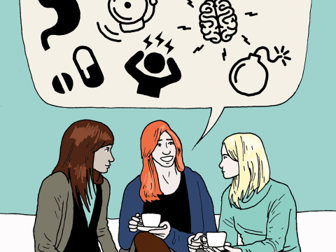 We're All Mad Here: Claire Eastham talks panic attacks, social anxiety and her blog on mental health podcast Mentally Yours