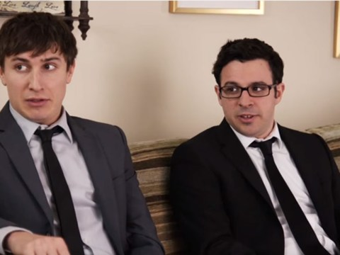 Inbetweeners and Friday Night Dinner star Simon Bird is now dad to a 'judgmental' six-month-old