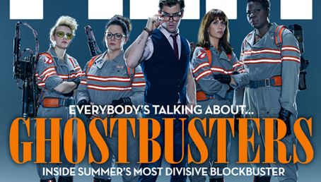 People aren't happy with Total Film's Ghostbusters cover
