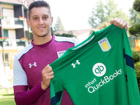 Aston Villa sign Italy under-21 goalkeeper Perluigi Gollini