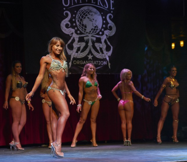 I entered Miss Galaxy Universe with 20 weeks to get shredded