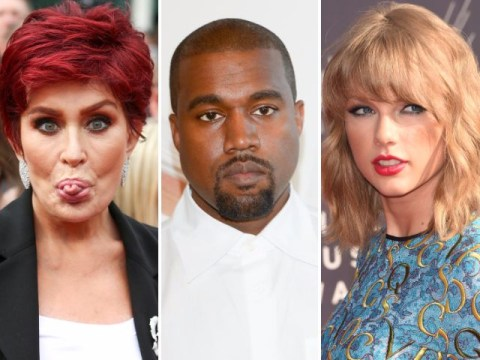 Sharon Osbourne sides with Taylor Swift and slams Kanye West as a 'bully'
