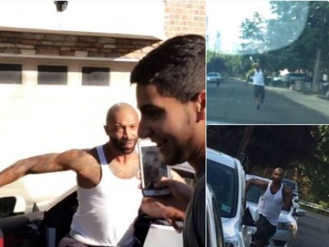 WATCH: Joe Budden chases down Drake fans who heckled him at his house