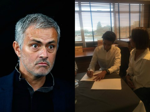 Jose Mourinho's son signs two-year deal with Fulham