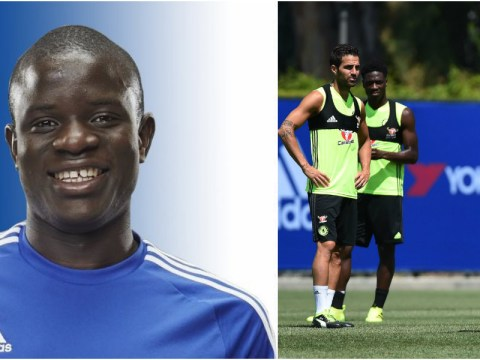 N'Golo Kante links up with Chelsea in America for pre-season tour