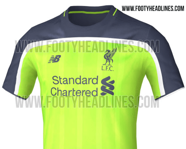 finest selection 04ff2 5c266 Liverpool news: 2016/17 green third kit leaked | Metro News