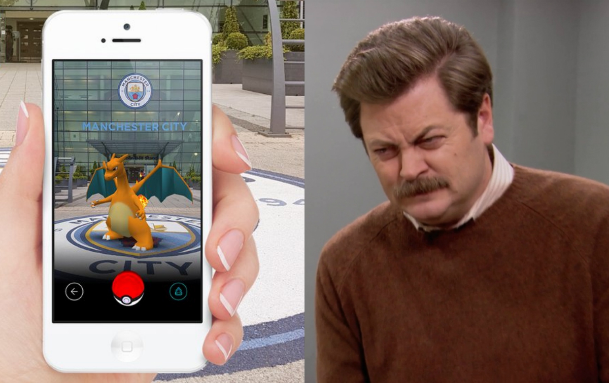 Manchester City destroyed by rival fans for Pokemon Go tweet