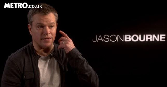 Matt Damon talks Stevie Wonder