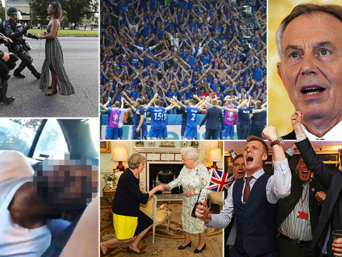 In pictures: The last month has had enough news for a year, thanks