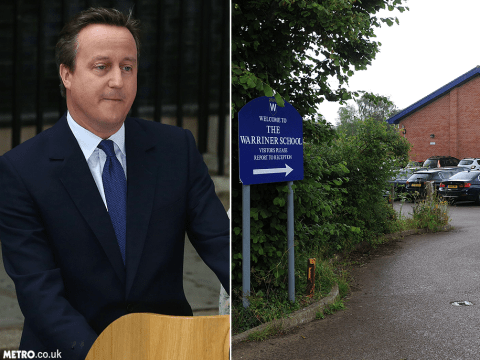 Two girls excluded for taking ecstasy while David Cameron visited their school