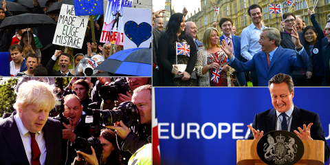 In pictures: The UK chose Brexit a week ago and then all this happened