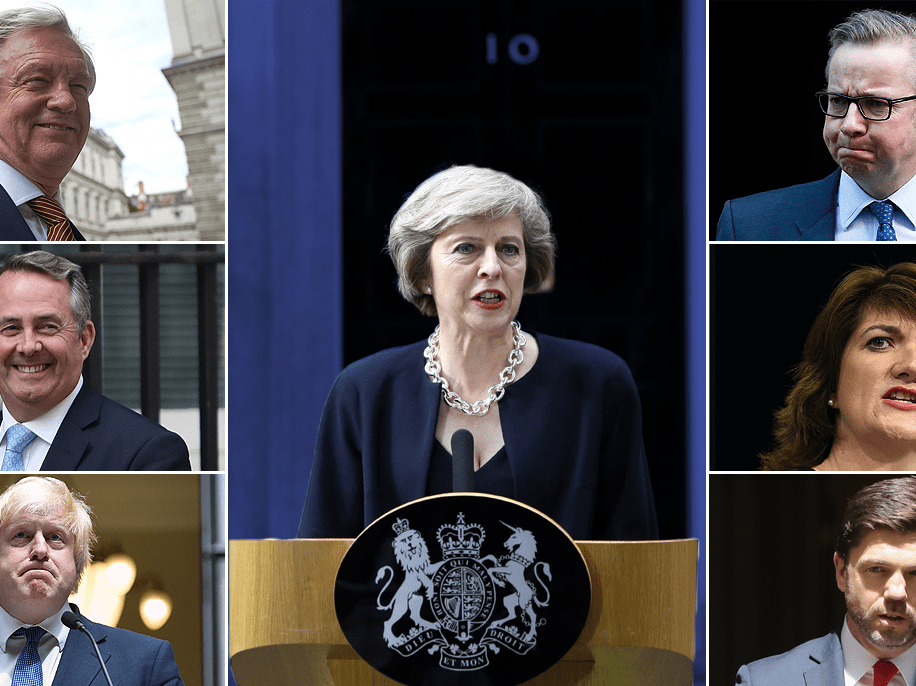 Theresa May wields axe as new cabinet sees Gove go and women in top roles