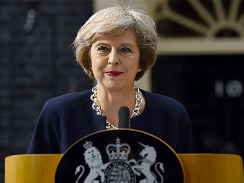 Prime Minister Theresa May promises a 'country that works for everyone' in first speech