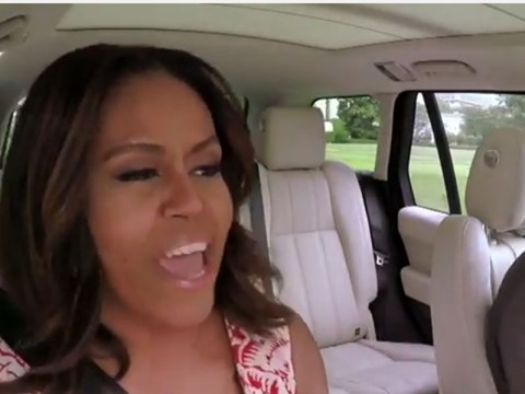Michelle Obama channels her inner Beyonce in what could be the best Carpool Karaoke yet