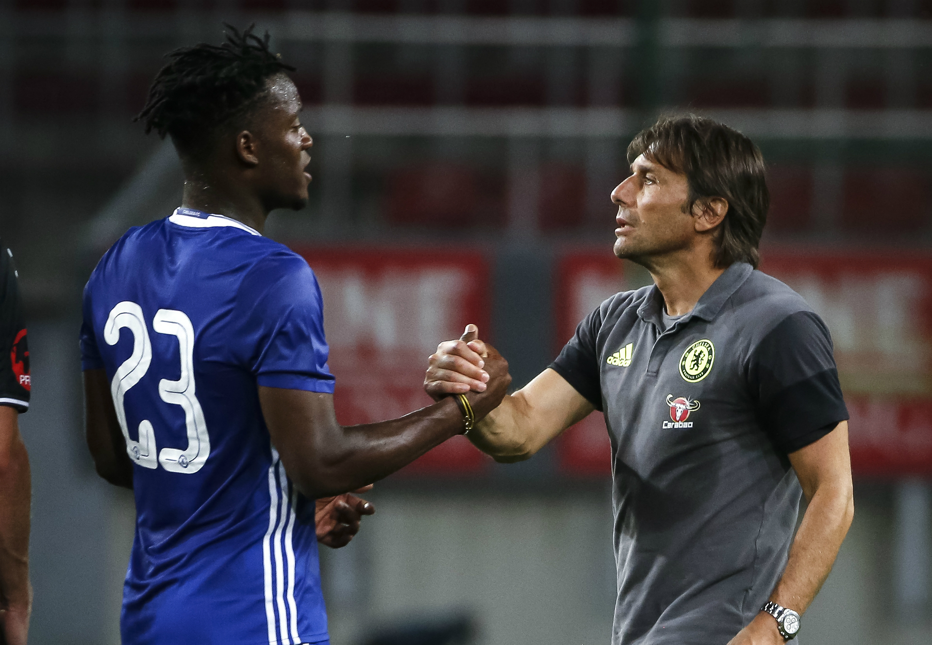 Michy Batshuayi claims Antonio Conte has already made him a better player… after just five days!