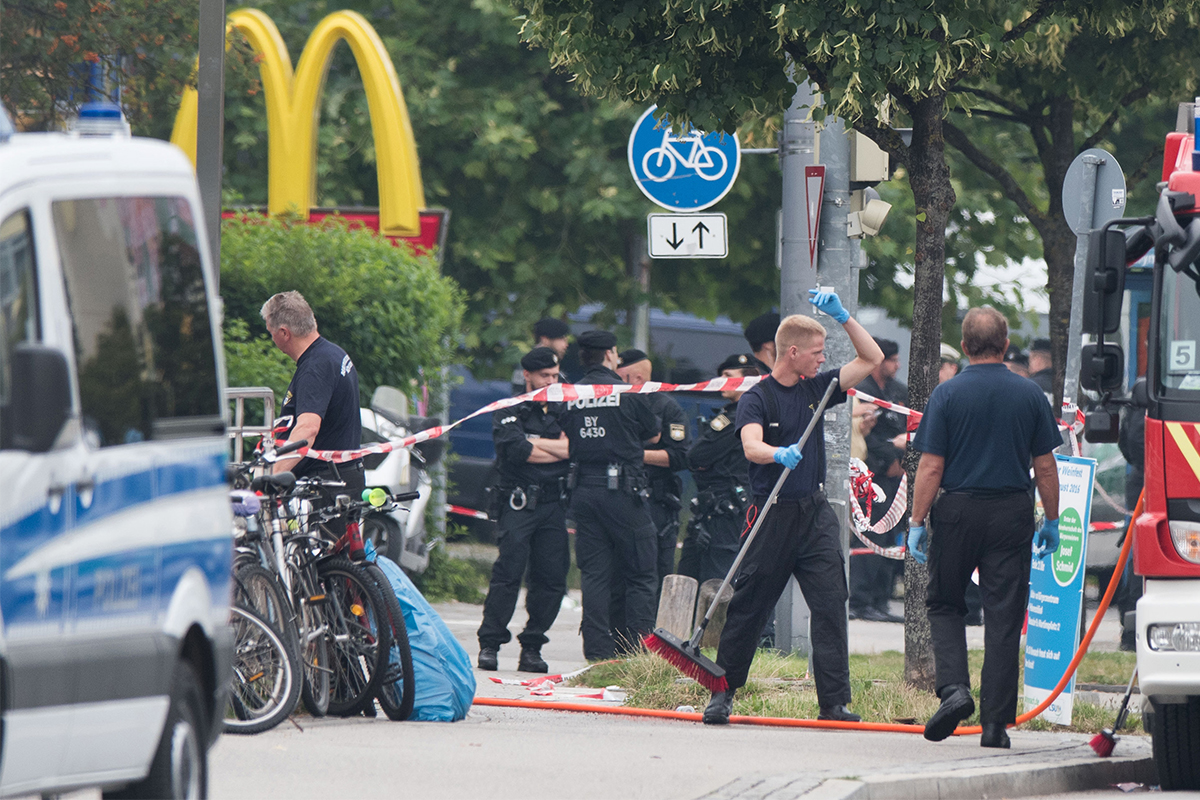 Munich gunman 'lured victims with Facebook post about free McDonald's'