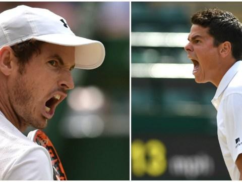 Head-to-head: Andy Murray has edge on Milos Raonic heading into Wimbledon final