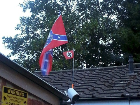 Police won't prosecute Nazi flag man as he was 'naive'