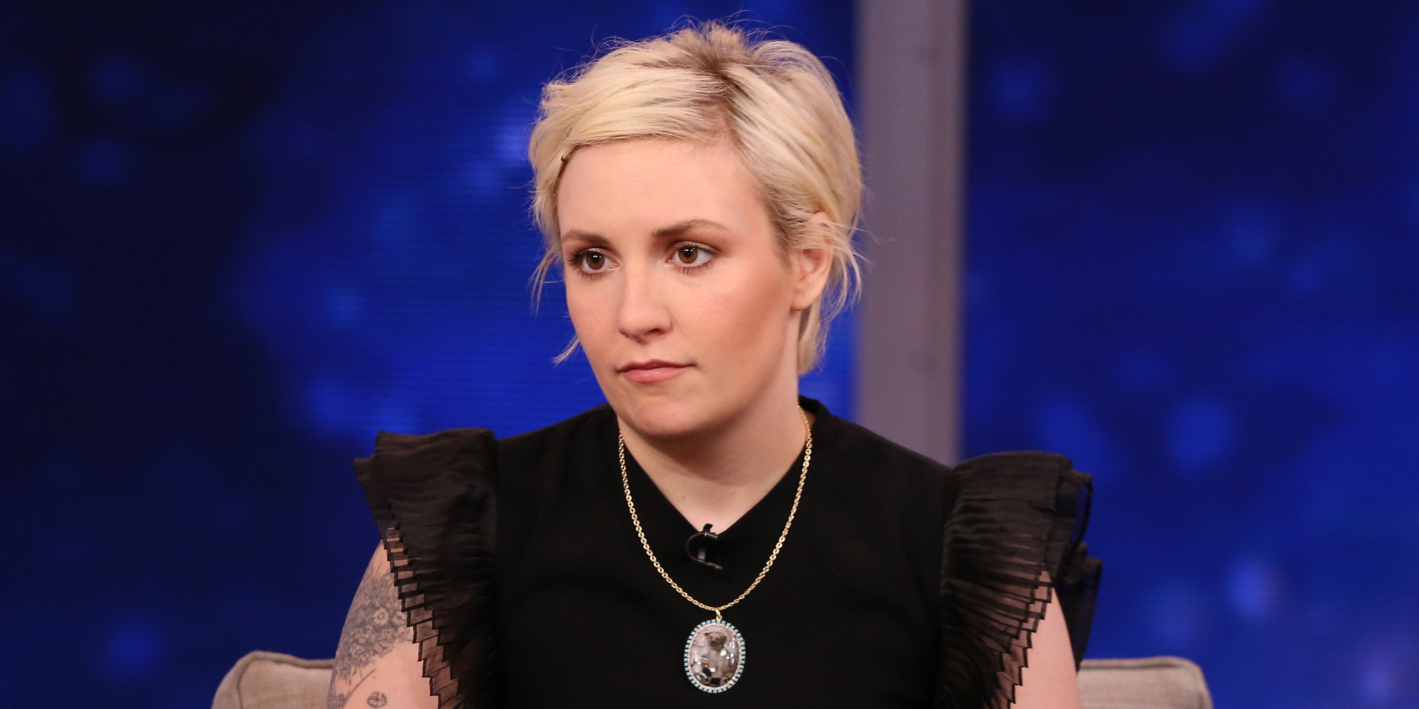 Lena Dunham spoke about her experience at Planned Parenthood (Picture: ABC via Getty Images)