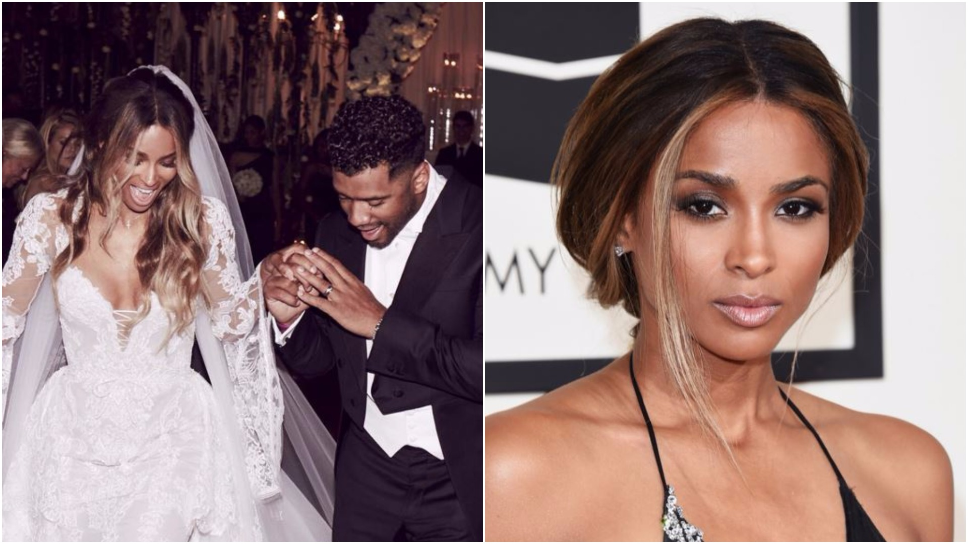 Ciara has tied the knot with her NFL boyfriend in Liverpool of all places