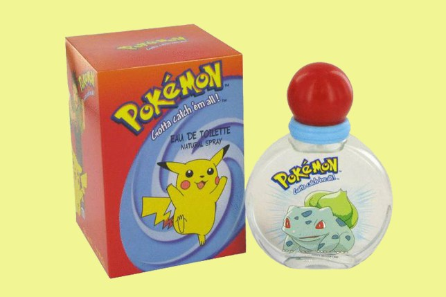 There's now a perfume to make you smell like Pokemon Go