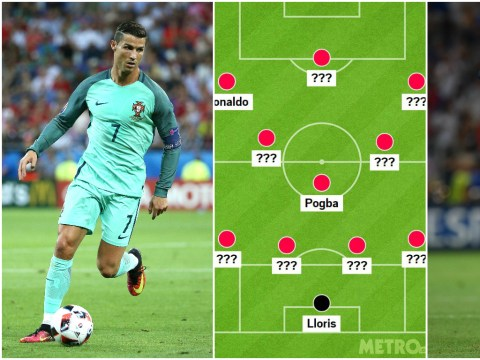Euro 2016 final: France v Portugal combined XI with Arsenal and West Ham stars lining up alongside Cristiano Ronaldo