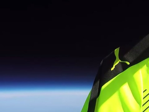 Championship club Reading promotes 2016/17 kit by 'launching' it into outer space