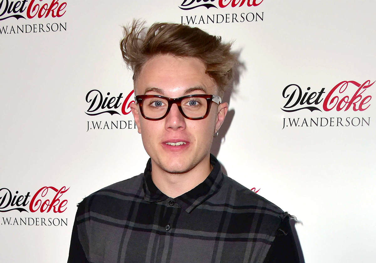 Video Available Mandatory Credit: Photo by Nils Jorgensen/REX/Shutterstock (4916862eo) Roman Kemp Diet Coke and J.W.Anderson collection launch, London, Britain - 30 Jul 2015 London's fashion elite gather at Village Underground in Shoreditch to celebrate the exclusive launch of the Diet Coke J.W.Anderson collection as the new designs are revealed for the first time. Jonathan Anderson, the founding designer of the London-based J.W.Anderson, unveiled the collection to almost 200 VIP guests.