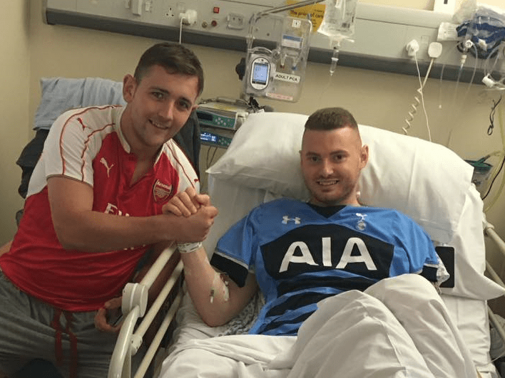 Arsenal fan saves the life of Tottenham supporter – but still called a 'dirty gooner'