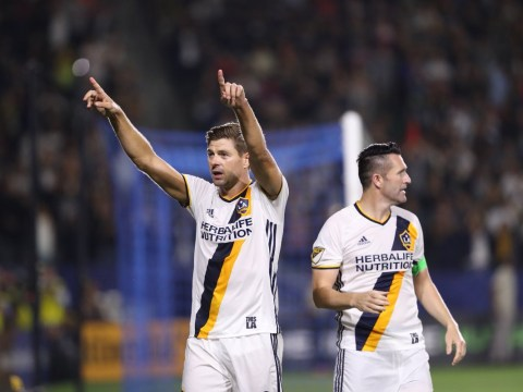 Former Liverpool captain Steven Gerrard scores winner in crucial LA Galaxy victory