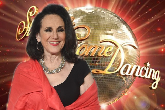 Lesley Joseph for Strictly