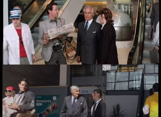 Someone has recreated the Superman IV scenes that were