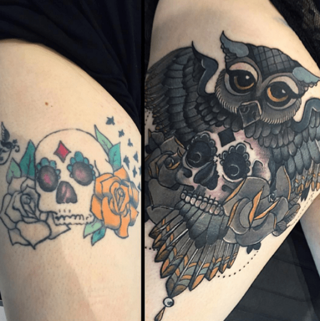 Tattoo cover-up ideas that turn your bad ink into works of art ...