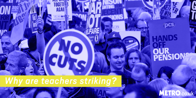 Info piece: Why are teachers striking? Reuters