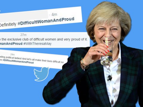 #DifficultWomanAndProud trends after Ken Clarke's verbal diarrhoea about Theresa May