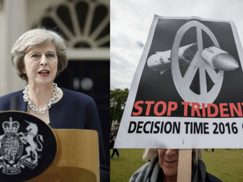 Theresa May: There will be no compromise on Trident