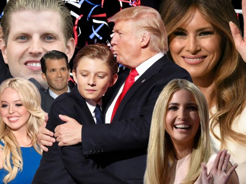 Who are the Trump family? A guide to Tiffany, Eric, Ivanka, Donald Jr and Barron