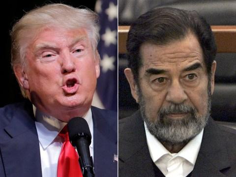 Donald Trump praises Saddam Hussein for killing off 'terrorists'