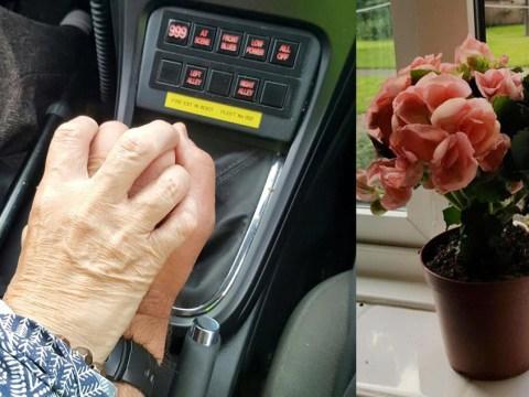 Policeman held dementia patient's hand all the way home