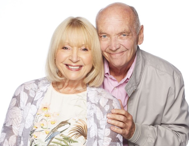 Programme Name: EastEnders - TX: 11/07/2016 - Episode: EastEnders - Les Coker (No. n/a) - Picture Shows: Pam Coker (LIN BLAKLEY), Les Coker (ROGER SLOMAN) - (C) BBC - Photographer: Nicky Johnston
