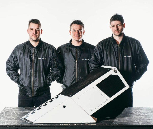 Programme Name: Robot Wars - TX: n/a - Episode: n/a (No. 4) - Picture Shows: Team APOLLO - (C) Mentorn Media Scotland - Photographer: Andrew Rae