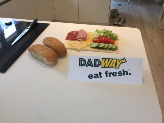 Matthew Blake Wins Rave Reviews With His Dad Versions Of Fast Food