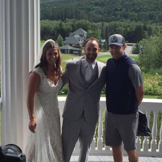 Justin Timberlake* crashes a wedding