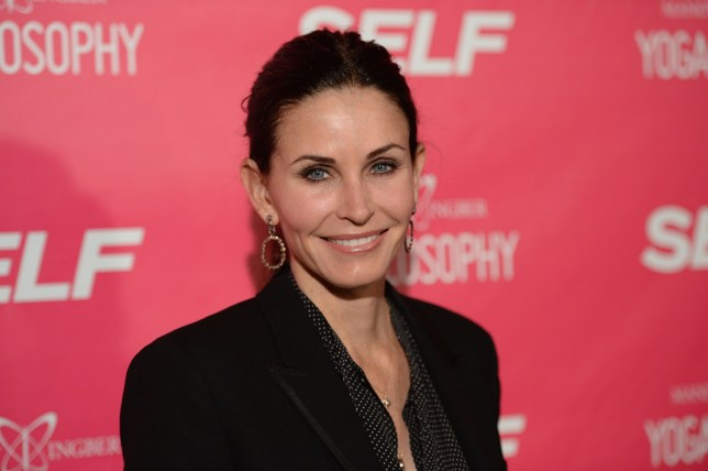 Courteney Cox might regret appearing on Bear Grylls Running Wild (Picture: Jason Merritt/Getty Images for SELF Magazine)