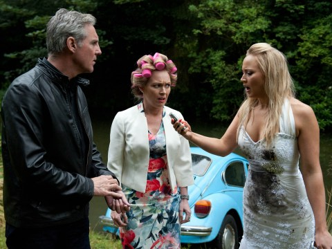 Emmerdale spoilers: Wedding kidnap! Frank Clayton's actions destroy Tracy Shankley and David Metcalfe's big day?