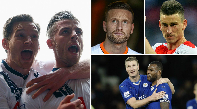 Ranking the best Premier League centre-back partnerships as Arsenal close in on Shkodran Mustafi transfer