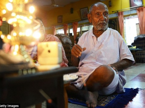 A monk who says he's 120 years old says having no sex is the secret to a long life